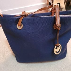 Denim Michael Kors Purse